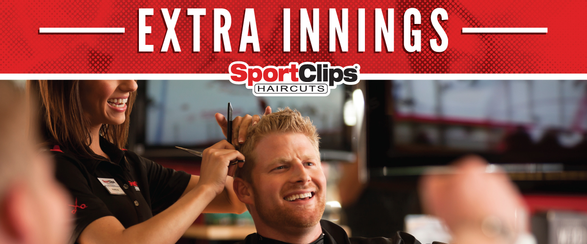 The Sport Clips Haircuts of Bellevue-East Extra Innings Offerings