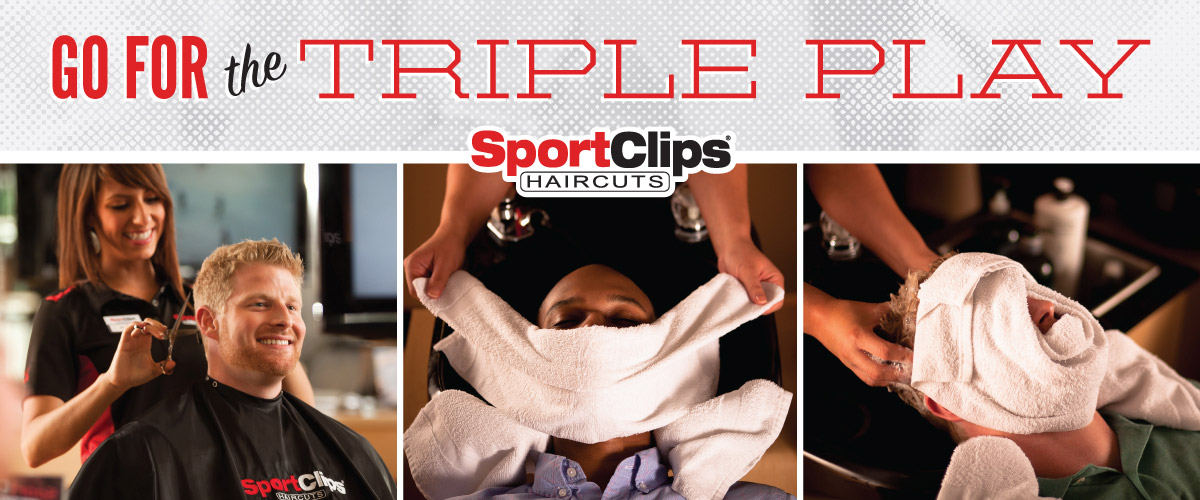 The Sport Clips Haircuts of Bellevue-East Triple Play